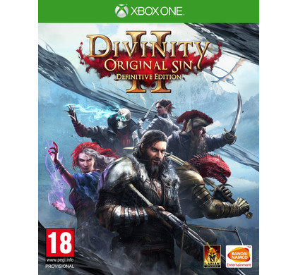 Divinity Original Sin 2 (Definitive Edition) Xbox One Packaging