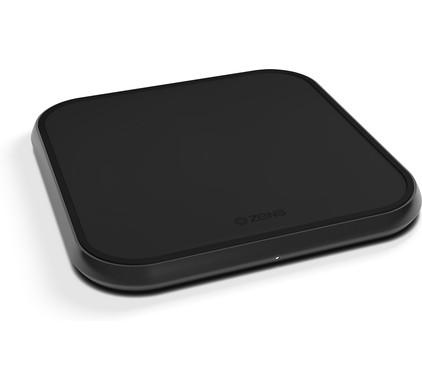 ZENS Single Aluminum Wireless Charger 10W Black Main Image