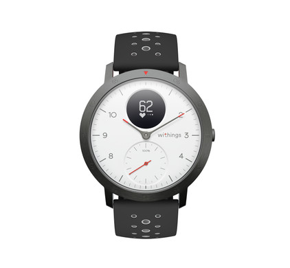 Withings Steel HR Sport White Main Image