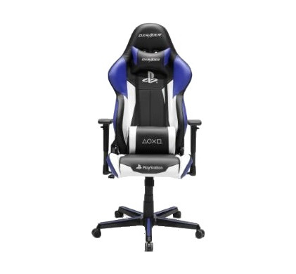 Prime Dxracer Racing Gaming Chair Playstation Edition Blue Black White Machost Co Dining Chair Design Ideas Machostcouk