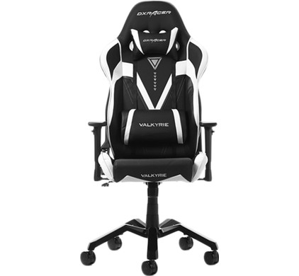 Superb Dxracer Valkyrie Gaming Chair Black White Machost Co Dining Chair Design Ideas Machostcouk