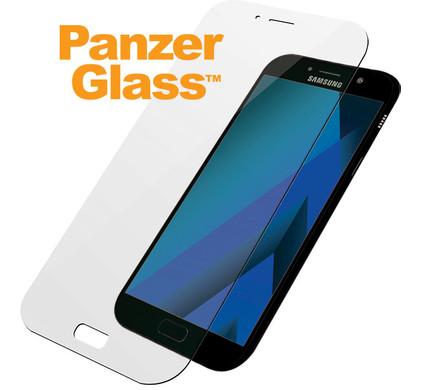PanzerGlass Screenprotector Samsung Galaxy A7 (2017) - Coolblue - Voor 23.59u, morgen in huis