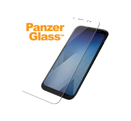 PanzerGlass Screenprotector Samsung Galaxy A8 (2018) - Coolblue - Voor 23.59u, morgen in huis