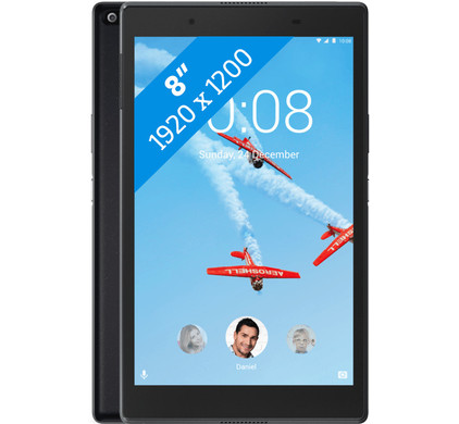 Lenovo Tab 4 8 Plus 4GB 64GB Zwart Combined product