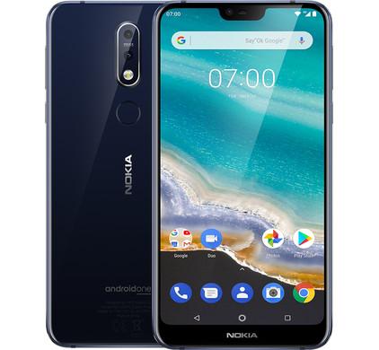 Nokia 7.1 Blauw - Coolblue - Voor 23.59u, morgen in huis