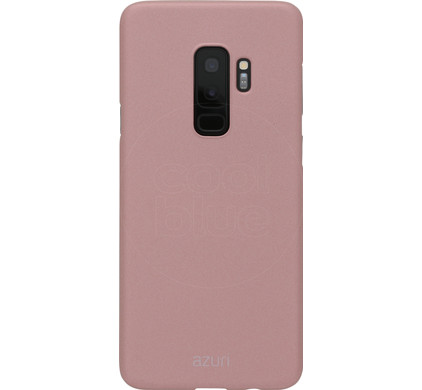 official photos bede7 b2252 Azuri Metallic Soft Touch Samsung Galaxy S9 Plus Back Cover Rose Gold
