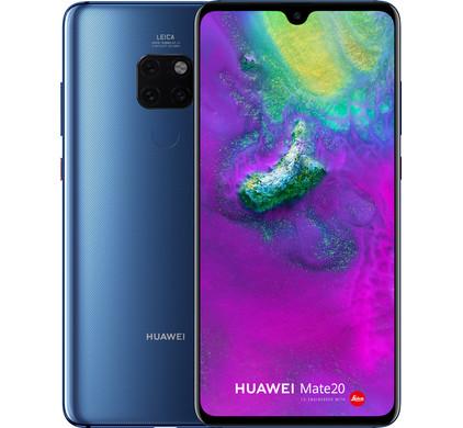 Huawei Mate 20 Blauw - Coolblue - Voor 23.59u, morgen in huis