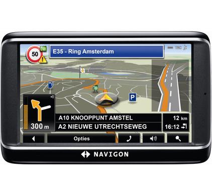 Navigon 40 Premium + Tas + Thuislader