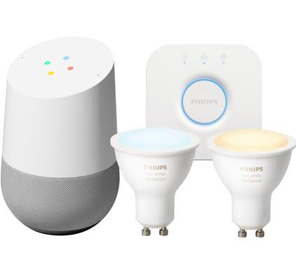 Philips Hue Lampen Gu10.Google Home Philips Hue Gu10 White Ambiance Starter Pack Coolblue