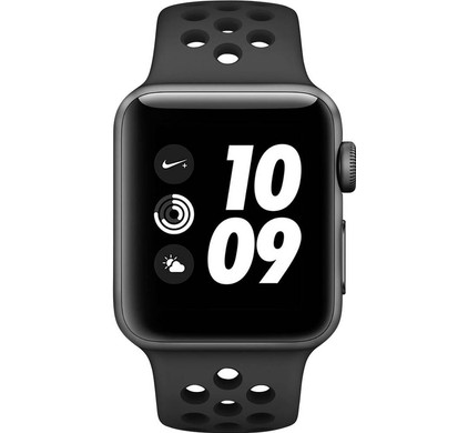 Apple Watch Series 3 Nike+ 38mm Space Gray Aluminum/Black Main Image