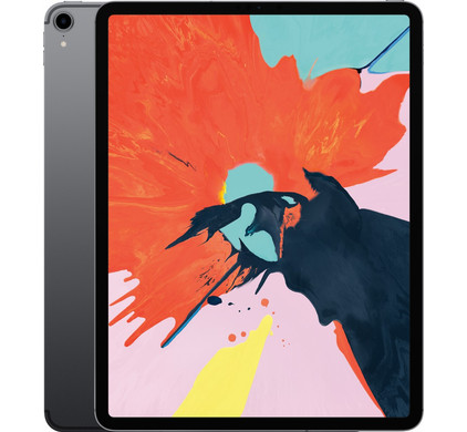 Apple iPad Pro 12,9 inch (2018) 64 GB Wifi Space Gray Front