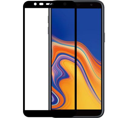 Azuri Gehard Glas Samsung Galaxy J6 Plus (2018) Screenprotector Glas Zwart - Coolblue - Voor 23.59u, morgen in huis
