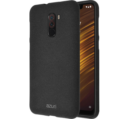 finest selection 15ee2 c670a Azuri Flexible Sand Xiaomi Pocophone F1 Back Cover Black