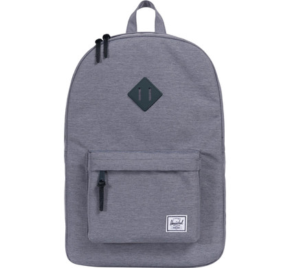 991a2c2c0f8 Herschel Heritage Mid Grey Crosshatch - Coolblue - anything for a smile