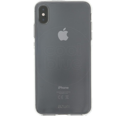 reputable site 3b745 96d7f Azuri TPU Apple iPhone Xs Max Back Cover Transparent