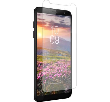 InvisibleShield Glass+ Samsung Galaxy J4 Plus Screenprotector Glas - Coolblue - Voor 23.59u, morgen in huis