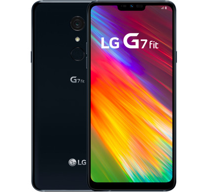 LG G7 Fit Black Main Image