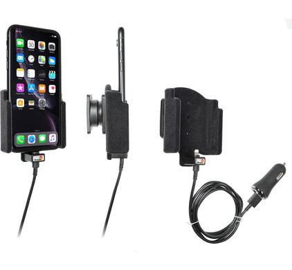 Brodit Sig Plug Apple iPhone Xr Car Holder With Charger Main Image