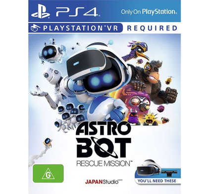 Astro Bot VR PS4 Main Image