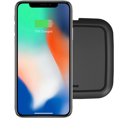 ZENS Single Ultra Fast Wireless Charger 15W Black Main Image