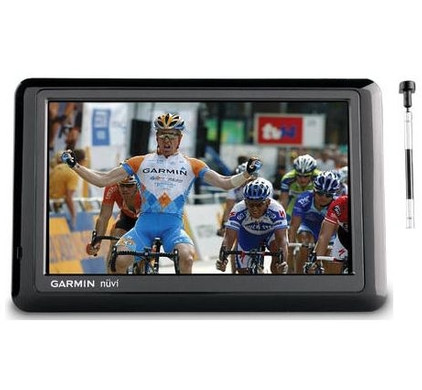 Garmin Nuvi 1490TV + Thuislader + Tas