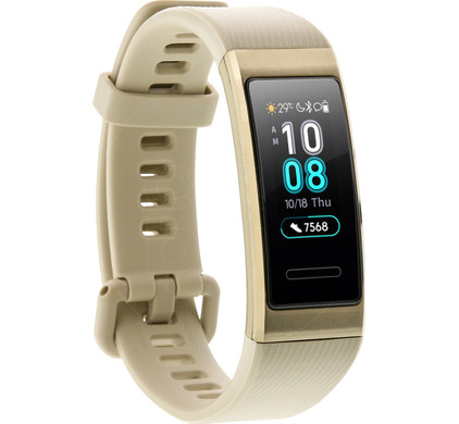 Huawei Band 3 Pro Gold Left side