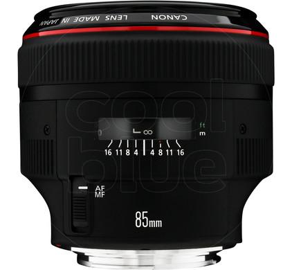 Canon EF 85mm f/1.2L II USM Main Image