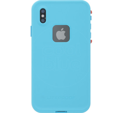 new product 66ce2 bb3ff Lifeproof Fre Apple iPhone Xs Max Full Body Blue