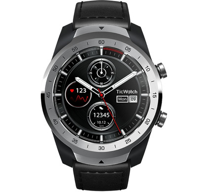 TicWatch Pro Liquid Silver Main Image