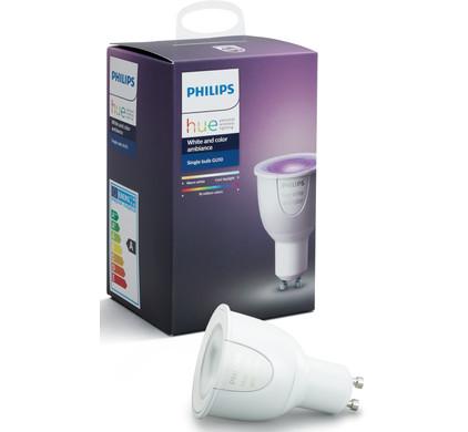Philips Hue White and Color GU10 Single Bulb Main Image