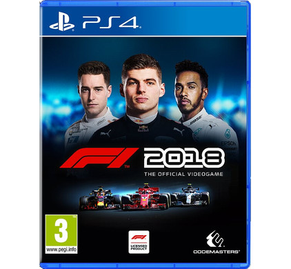 F1 2018 PS4 Main Image