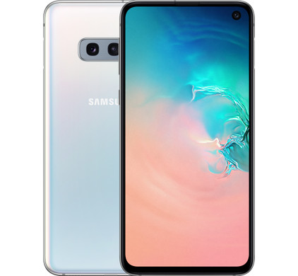 Samsung Galaxy S10e 128GB Wit Combined product