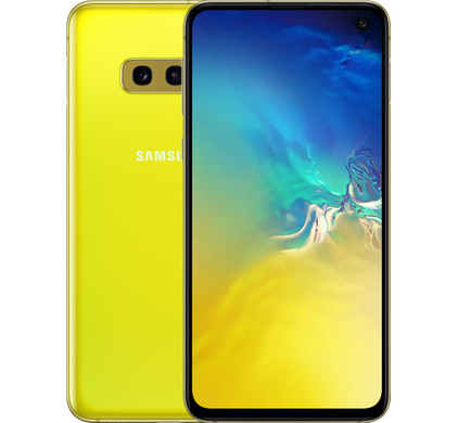 Samsung Galaxy S10e 128GB Geel Main Image