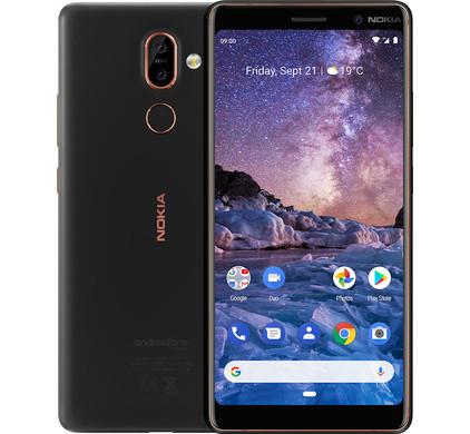 Nokia 7 Plus Black Main Image