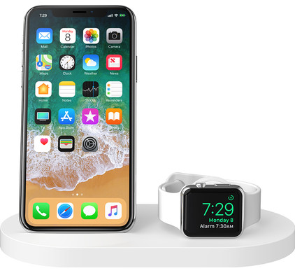 Belkin Boost Up Wireless Charger with USB A Port iPhone / Apple Watch White Main Image