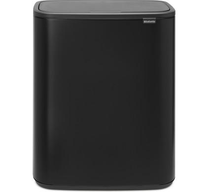 Brabantia 30 Liter Afvalemmer.Brabantia Bo Touch Bin 2 X 30 Liter Matt Black Before 23 59