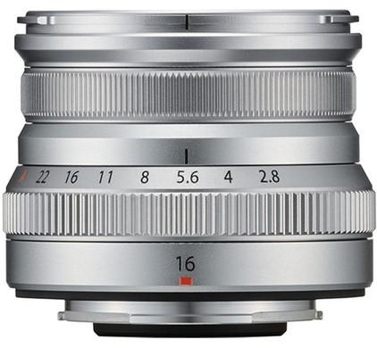 Fujifilm XF16mm f/2.8 R WR Silver Main Image