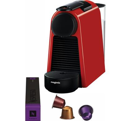 Magimix Nespresso Essenza Mini Red Main Image