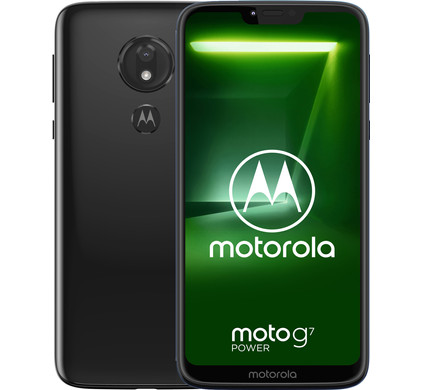 Motorola Moto G7 Power Zwart Main Image