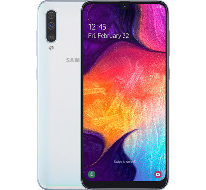 Samsung Galaxy A50 Wit Main Image