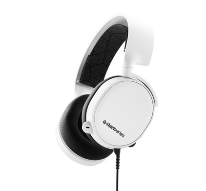 SteelSeries Arctis 3 2019 White Main Image