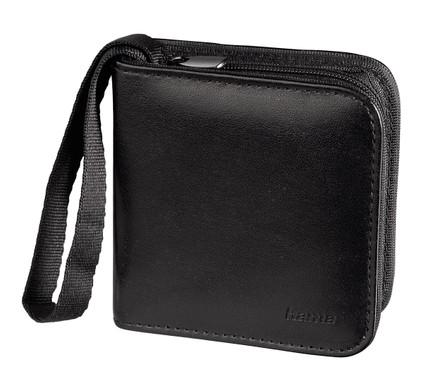 Hama Memory Wallet 12x SD Zwart + lenspen