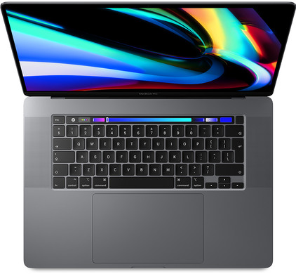 Apple MacBook Pro 16 inch (2019) 2,4 GHz i9 64 GB/2 TB 5500M 8 GB