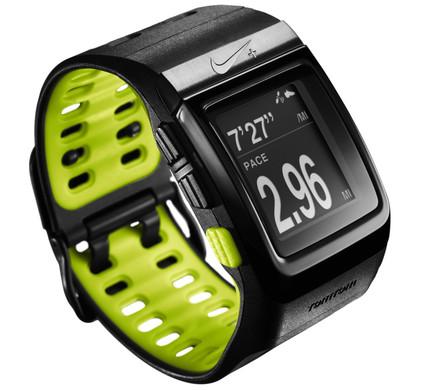Nike+ SportWatch GPS ZwartVolt + Nike+ sensor