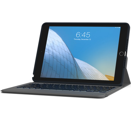 ZAGG Rugged Messenger Apple iPad (2020)/(2019) Tablethoes met Toetsenbord QWERTY