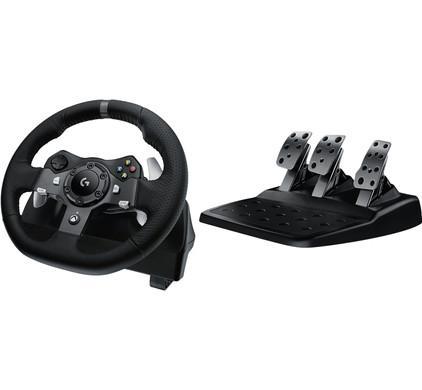 Logitech G920 Driving Force - Racestuur voor Xbox Series X|S, Xbox One & PC