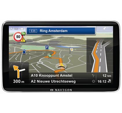 Navigon 92 Plus + Tas