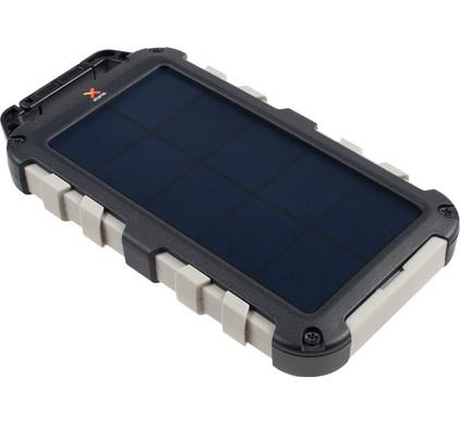 Xtorm Robust Charger Solar Powerbank 10.000 mAh Zwart