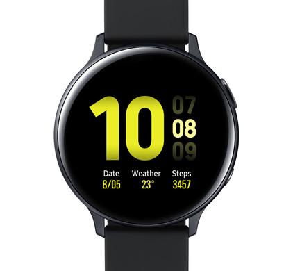 Samsung Galaxy Watch Active2 Zwart 44 mm Aluminium