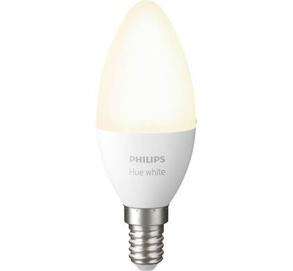 Philips Hue Kaarslamp White E14 Single Pack Bluetooth